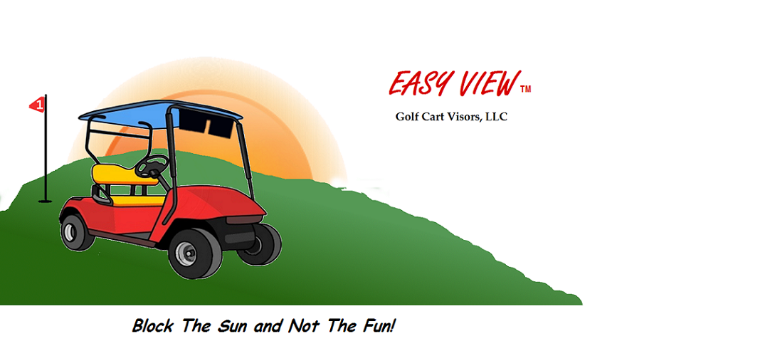 Easy View  Golf Cart Sun Visors LLC